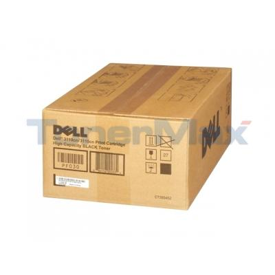 DELL 3110CN TONER CARTRIDGE BLACK 8K